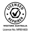 Licensed Repairer | Western Australia | License No. MRB1603
